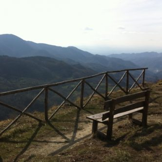panorama da Giogo di Castagno