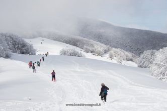 vista monte gabrendo neve