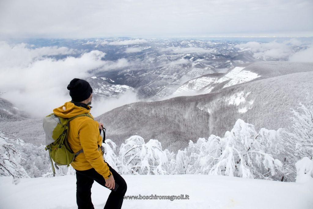 monte falco neve