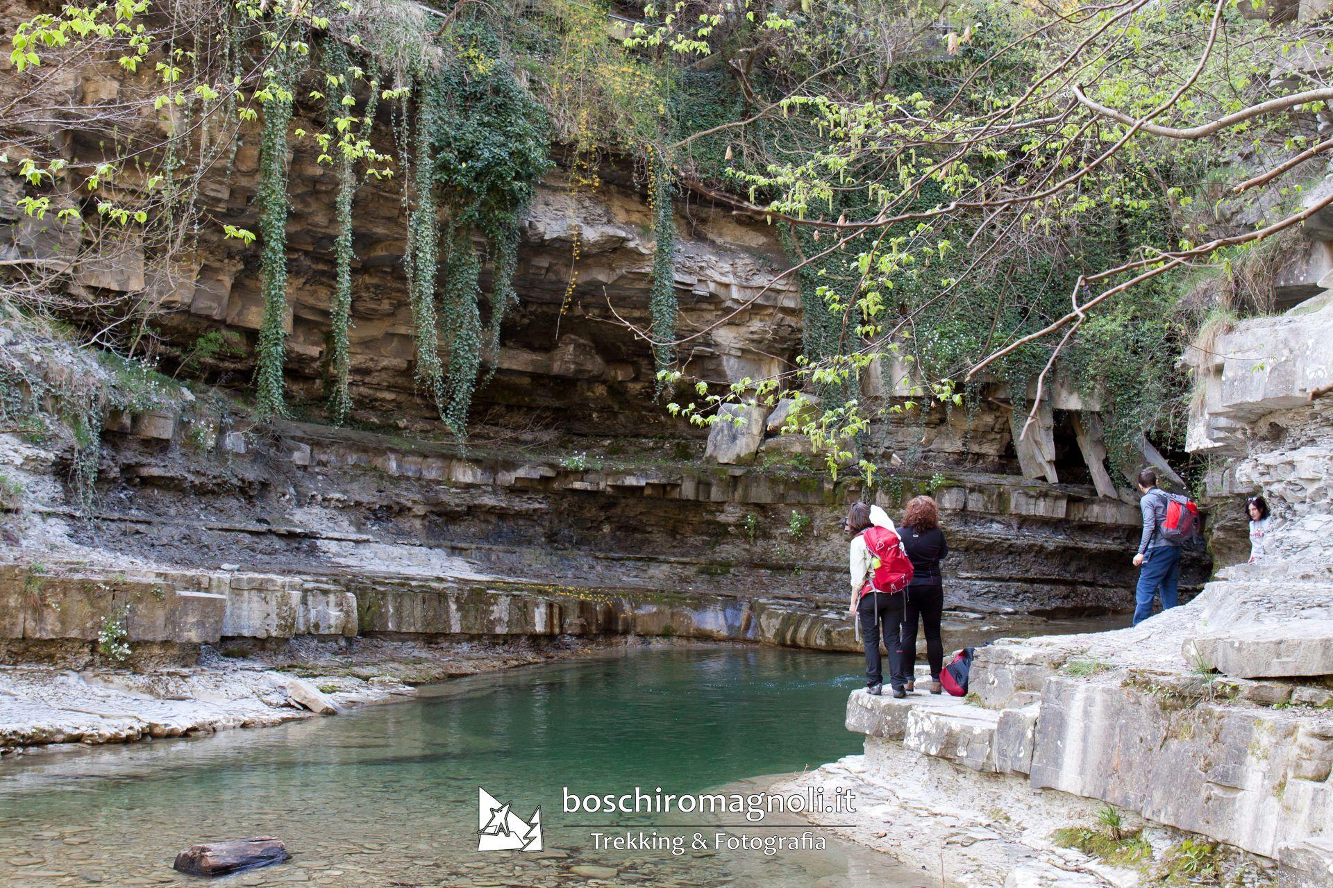 Grotta Urlante Premilcuore Trekking