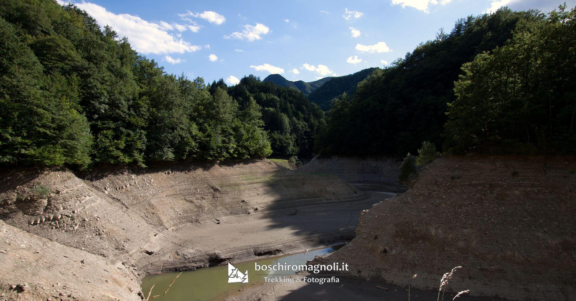 Meandri del lago di Ridracoli