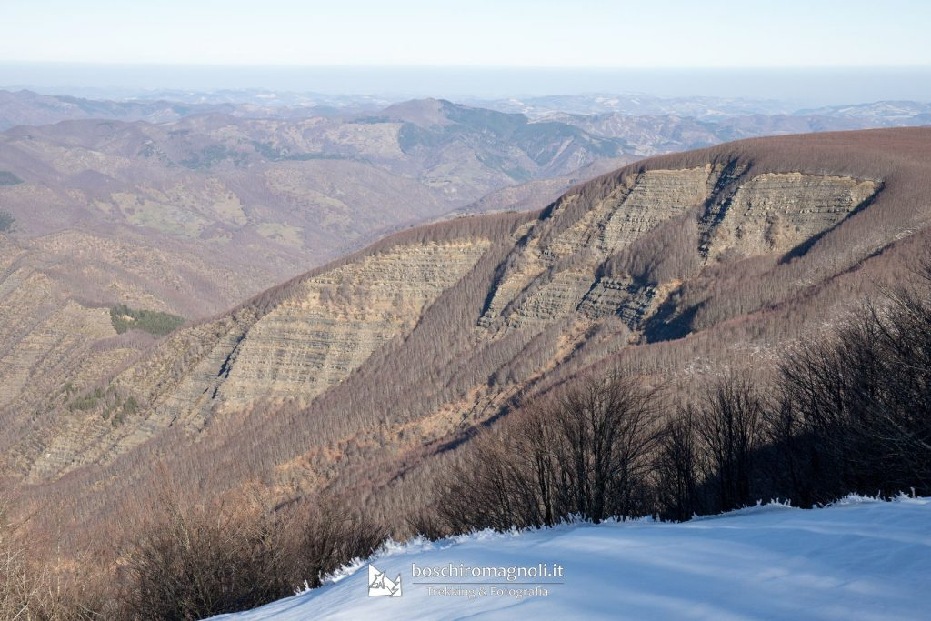 trekking falterona