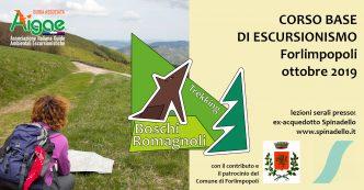 Corso base escursionismo Forlimpopoli 2019