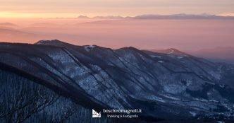 tramonto Monte Falco